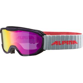 Alpina Pheos MM Goggles Juniors purple pink